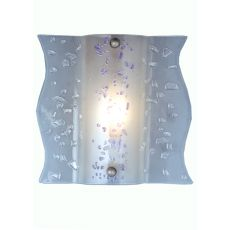 """12"""" W Metro Fusion Ice Age Wall Sconce"""