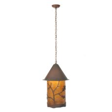 "16"" W Oak Leaf & Acorn Pendant"