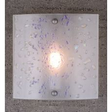 """11"""" W Metro Fusion Ice Wall Sconce"""