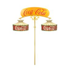 "59.5"" W Coca-Cola 2 Arm Island Mount"