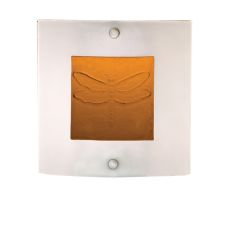 """11"""" W Metro Fusion Wings Wall Sconce"""