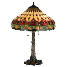 """25.5"""" H Colonial Tulip Table Lamp"""