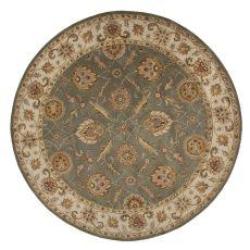 Oriental Pattern Wool Mythos Area Rug