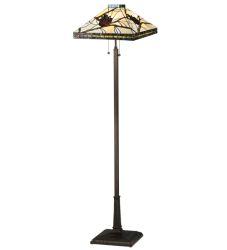 "60""H Pinecone Mission Floor Lamp"