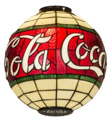 """12""""W Coca-Cola Shade"""