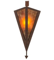 "8""W Desert Arrow Wall Sconce"