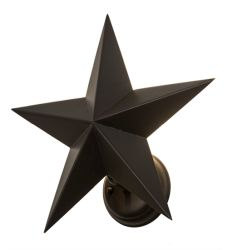 "17""W Texas Star Wall Sconce"