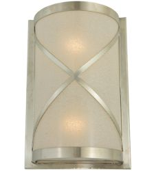 "8""W Whitewing Wall Sconce"