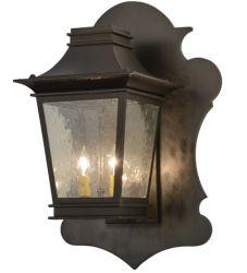 """16.5""""W Fanucchi Lantern Wall Sconce"""
