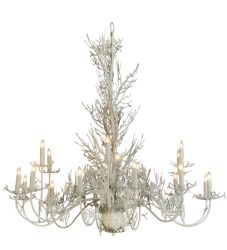 "72""W Coral 18 Lt Chandelier"