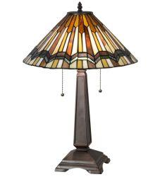 """24""""H Prairie Delta Table Lamp"""