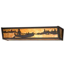 "24""W Canoe At Lake Vanity Light"