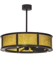 "36.5""W Smythe Craftsman W/Up And Downlights Led Chandel-Air"