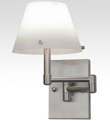 """6.5-13.5""""W Whitley Swing Arm Wall Sconce"""