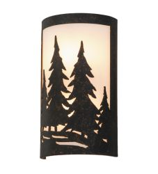 "8""W Tall Pines Ada Wall Sconce"