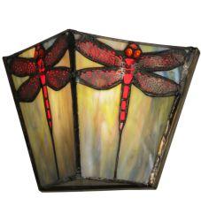 "7.5""W Prairie Dragonfly Wall Sconce"