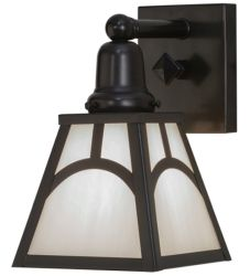 "6""W Mission Hill Top Wall Sconce"