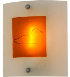 "11""W Metro Fusion Loon Wall Sconce"