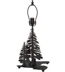 """14""""H Tall Pines Double Lit Table Base"""