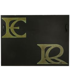 Monogram Fireplace Cover