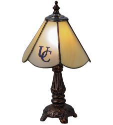 "11.5""H Utica College Custom Logo Mini Lamp"
