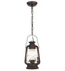 "7""W Miners Lantern Mini Pendant"