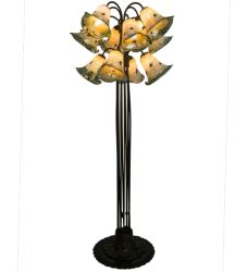 "62""H Extreme Pond Lily 12 Lt Floor Lamp"