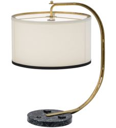 "22""H Cilindro Madrona Table Lamp"