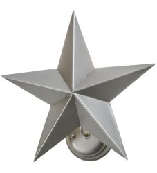"16""W Texas Star Wall Sconce"
