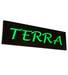 """70""""W Personalized Terra Led Sign"""