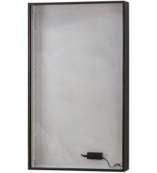 "30""W Mahogany Bronze 2700-3000K Warm White Led Backlit Display"