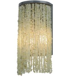 "7.5""W Jade Charm Wall Sconce"