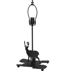 """14""""H Lone Deer Double Lit Table Base"""