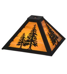 "11.5""Sq Tall Pine Shade"