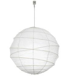 """30""""W Papier Lantern Pendant"""