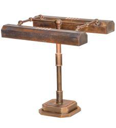 """16""""H Fargo Banker'S Lamp"""