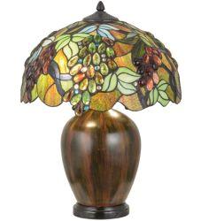 "22""H Vinifera Table Lamp"