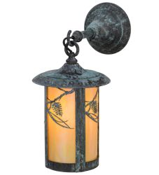 """8""""W Fulton Whispering Pines Hanging Wall Sconce"""