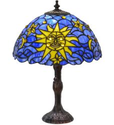 "16.5""H Sun, Moon & Stars Table Lamp"