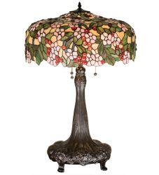 "31""H Tiffany Cherry Blossom Table Lamp"