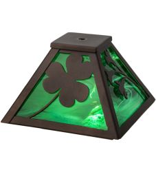 "8""Sq Shamrock Shade"