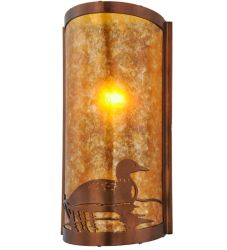 """9""""W Loon Right Led Wall Sconce"""