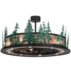 "48""W Tall Pines W/Up And Downlights Chandel-Air"