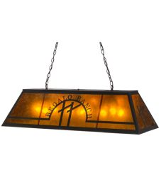 "48""L Personalized Regalo Ranch Oblong Pendant"