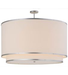 """48""""W Cilindro Natural Textrene Pendant"""