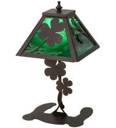 "14.5""H Shamrock Accent Lamp"