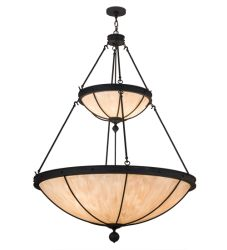 "48""W Nehring 2 Tier Inverted Pendant"
