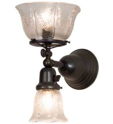 """7.5""""W Revival Summer Wheat 2 Lt Gas & Electric Wall Sconce"""
