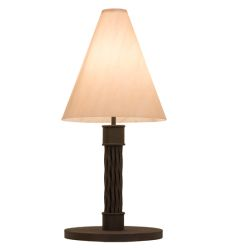 "17""W Cone Mosset Table Lamp"