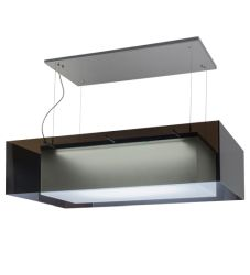 "48""L Quadrato Shadow Box Led Oblong Pendant"